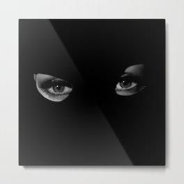 Woman eyes Metal Print