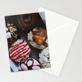 Peace, Love, and Little Donuts Stationery Cards
