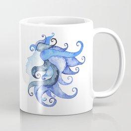 Mermaid Head Coffee Mug