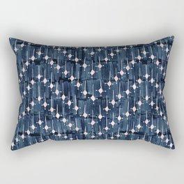 Justina Chevron Ink Rectangular Pillow