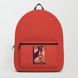 Tarot Hanged Man Backpack