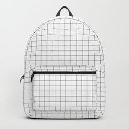 Grid lines pattern Backpack