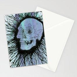 Splatter Skull Stationery Cards