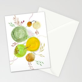 Little Planets 002 Stationery Cards