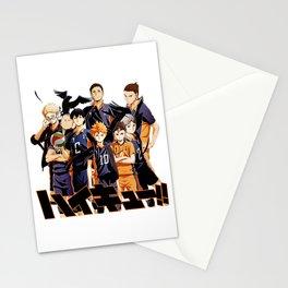 Karasuno haikyuu Volleyball Stationery Cards
