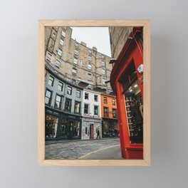 Diagon Alley - Edinburgh Victoria Street Framed Mini Art Print