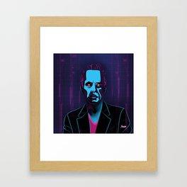 """Jordan Peterson"" Portrait Framed Art Print"