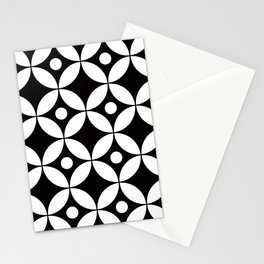Geometric Pattern 167 (circles dots) Stationery Cards