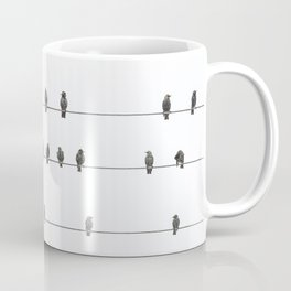 Birds on the Wires Coffee Mug