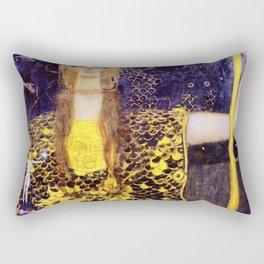 Gustav Klimt - Pallas Athena - Digital Remastered Edition Rectangular Pillow