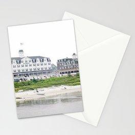 Block Island Harbor - Block Island, Rhode Island Stationery Cards