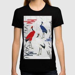 Magical Golden Cranes T-shirt