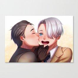Viktor and Yuri Canvas Print