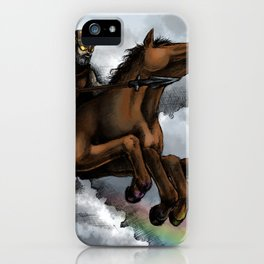 Odin and Sleipnir iPhone Case