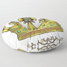 Royal Crown Floor Pillow
