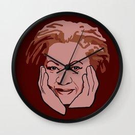 Toni Morrison Wall Clock