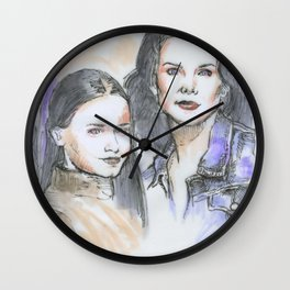 Lorelai & Rory Wall Clock