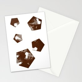 Pentagons of May 5 Stationery Cards