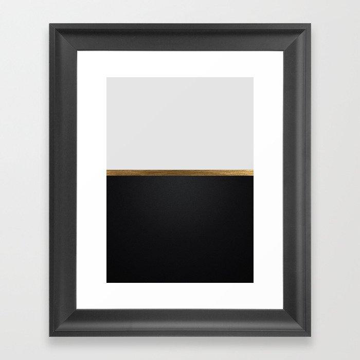 Abstract 5 Gerahmter Kunstdruck