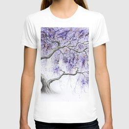 Purple Prosperity Tree T-shirt