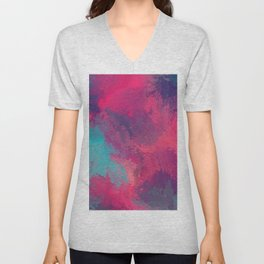"""""""And STILL I Persevere Through The Storms"""" Abstract Design Unisex V-Neck"""