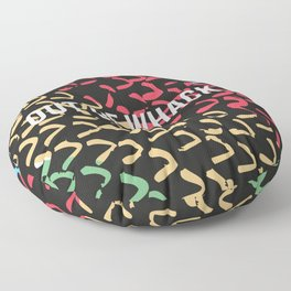 out of whack Floor Pillow