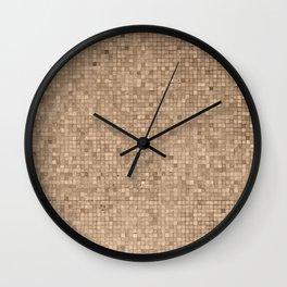 Little tiles I Wall Clock