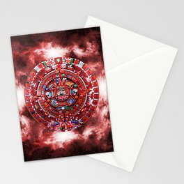 Aztec Calender Stationery Cards
