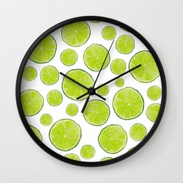 Hint of Lime Wall Clock