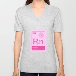 Periodic Elements - 86 Radon (Rn) Unisex V-Neck