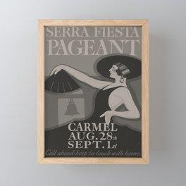 Affiche Siera Festa Pageant Framed Mini Art Print
