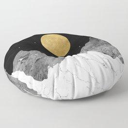 Moon and Stars Floor Pillow