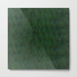 Real Green Pine Metal Print
