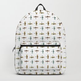 Mystical Dragonfly Graphic Pattern Backpack