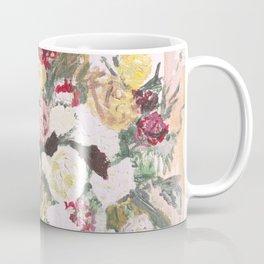 Blush pink roses, minimalist floral, wedding Coffee Mug