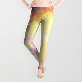 Galaxy: Carina Nebula Colorful Leggings