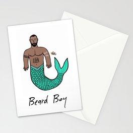 Beard Boy Merman: Nemo Stationery Cards