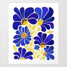 The Happiest Flowers Kunstdrucke