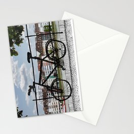 Bike Pastiche  Stationery Cards