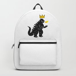 Jean-Michel Basquiat's Crown on Japanese Monster Backpack