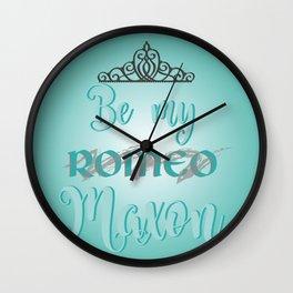 Be my Maxon Wall Clock