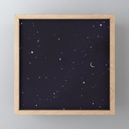 Starry Sky Framed Mini Art Print