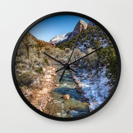 Virgin_River 4764 - Canyon Junction Zion Wall Clock