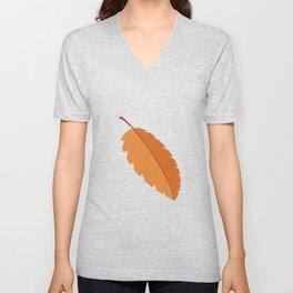 Fall Leaf Unisex V-Neck