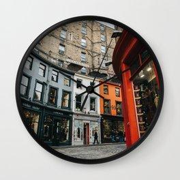Diagon Alley - Edinburgh Victoria Street Wall Clock