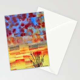 Dawn never waits Stationery Cards