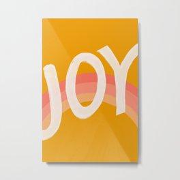 Joy In Rainbows Metal Print
