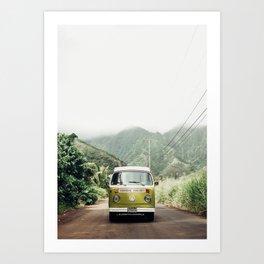 Mango In The Jungle Art Print