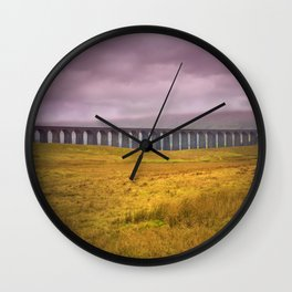 Ribblehead Viaduct Wall Clock