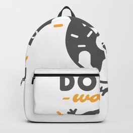 Donut Worry, Be Happy Backpack